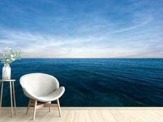 Blue sea and perfect sky
