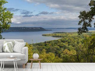 Lake Pepin & Mississippi River Scenic View