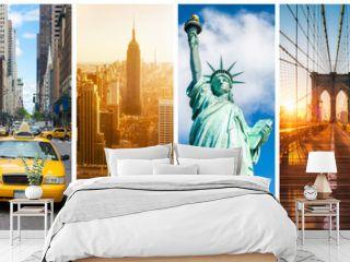 New York City Panorama Collage