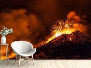 Etna eruption - Catania, Sicily