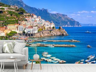 Amalfi town in southern Italy near Naples