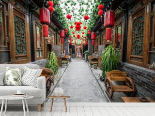 Typical chinese courtyard