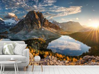 canada, lake magog, lake sumburst, lake cerulean