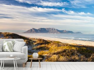 scenic view of table mountain cape town south africa