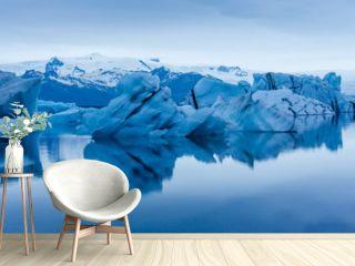 Eisberg in der Gletscherlagune Jökulsárlón auf Island