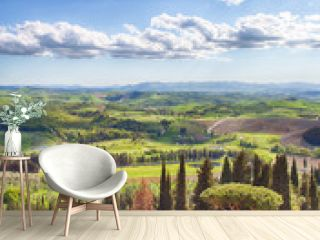 Golf Course, Tuscany, Castelfalfi
