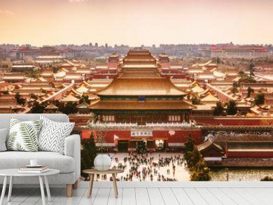 Verbotene Stadt in Peking, China.