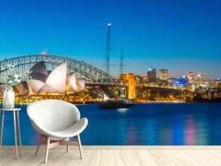 Downtown Sydney skyline