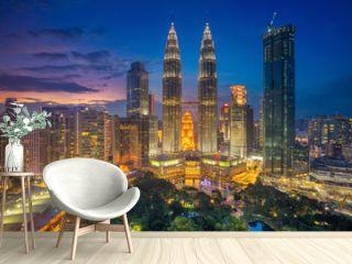 Kuala Lumpur. Cityscape image of Kuala Lumpur, Malaysia during sunset.