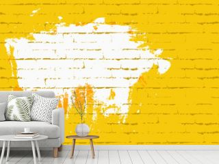 Seamless wall with brick texture. Space for graffiti or lettering. Background for music posters, invitations, placards, flyers