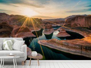 Reflection Canyon at sunrise (Utah)