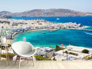 View on Mykonos island, Cyclades, Greece