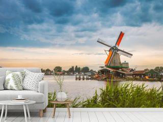De Zaanse Schans in Zaandam, just north of Amsterdam