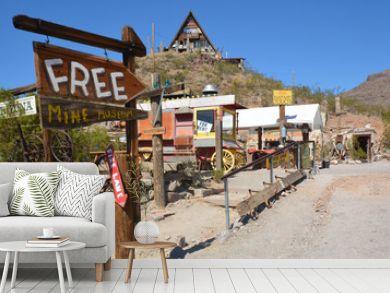 Oatman, Arizona, Route 66, Minen - Stollen