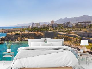 Panorama of Kyrenia in North Cyprus