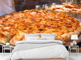 Authentic New York City Italian style pizzeria pizza pie