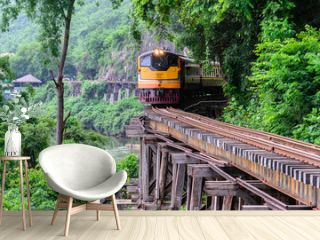 Death Railway, during the World War II at Kanchanaburi Thailand.