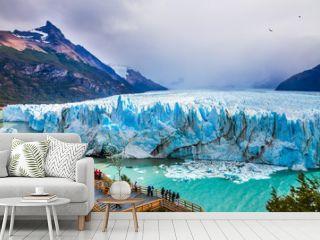 Glacier Perito Moreno in the Patagonia