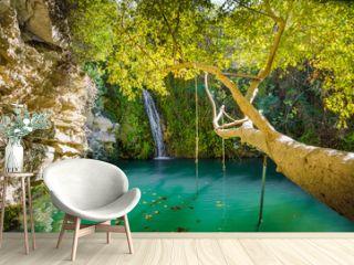 Adonis Baths, famous landmark near Paphos, Cyprus