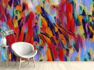 Abstract concept of painting texture for design work.