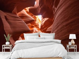 Real images of the lower Antelope canyon in Arizona, USA