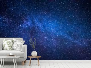 Milky Way Galaxy And Thousands Of Stars In Night Sky