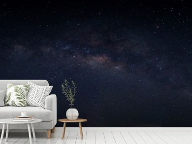 Sky background and stars at night Milkyway