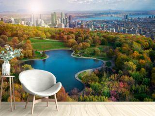 Montreal autumn season coulors