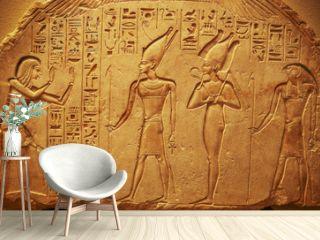 Ancient Egypt hieroglyphs