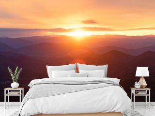 Appalachian Sunset Panoramic View