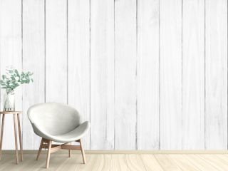 Old white wood texture background.