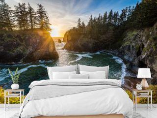 Oregon Coast Sunset - Samuel H Boardman