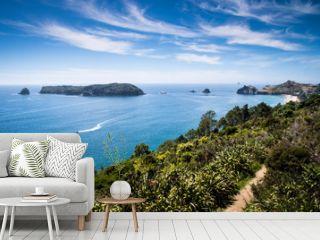 Scenic view of Coromandel Peninsula in New Zealand