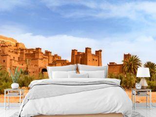 Kasbah Ait Ben Haddou near Ouarzazate Morocco. UNESCO World Heritage Site