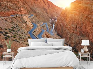 Dades Gorge is a gorge of Dades River in Atlas Mountains in Morocco.