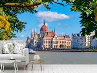Parlament Budapest und Donau