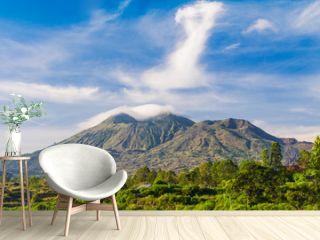 Mount Batur volcano, Bali island