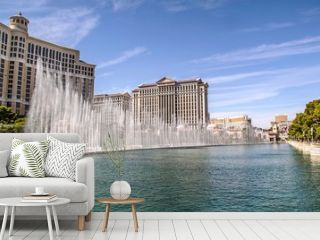 Gorgeous Bellagio Fountains Las Vegas Strip - Las vegas Strip Hotel. USA. Las Vegas.