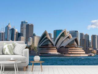 Sydney Australia. Opera House and skyline.