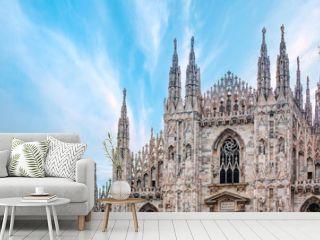 Milan Cathedral - (Duomo di Milano (Milan Cathedral) and Piazza del Duomo in Milan)