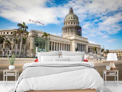 La Habana en auto por el Capitolio