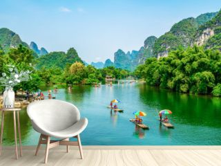 The Beautiful Landscape Scenery of Guilin, Guangxi