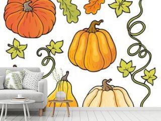Pumpkins theme collection 1
