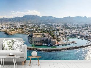 Sea port and Old Town of Kyrenia (Girne) is a city on the north coast of Cyprus.
