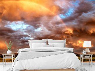 Thunderstorm Over Sandias