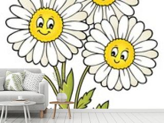 Daisy flower theme image 1