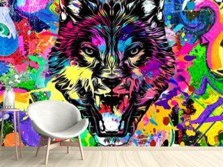 graffiti in the wall