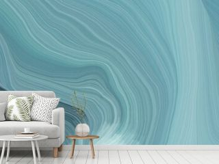 unobtrusive colorful elegant curvy swirl waves background illustration with cadet blue, dark slate gray and light blue color