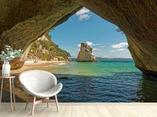 Cathedral Cove, Coromandel Peninsula,  New Zealand.