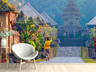 Penglipuran is a traditional oldest bali village at Bangli Regency - Bali, Indonesia